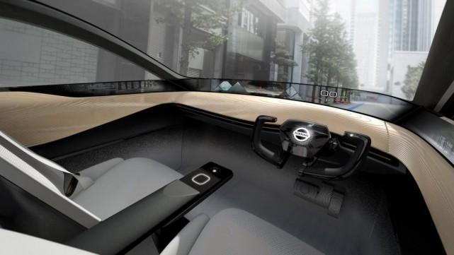 Nissan a dévoilé au salon deTokyo son concept... (Image fournie par Nissan)