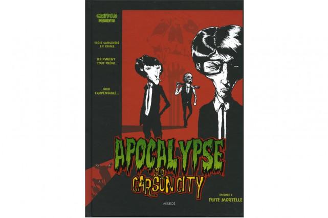 Apocalypse sur Carson City, épisode 1- Fuite mortelle... (image fournie par Akileos)
