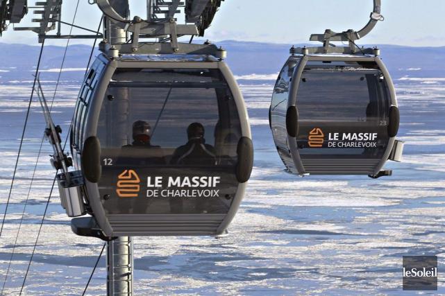 Les gouvernements seront mis à contribution afin de réaliser au Massif de... (Photo archives Le Soleil)