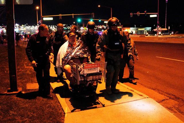 «Il y a trois morts confirmés», a affirmé... (REUTERS)