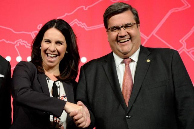 Les candidats à la mairie de Montréal, Valérie... (Photo Bernard Brault, Archives La Presse)