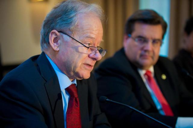 L'ex-ministre des Finances du Québec Raymond Bachand choisira... (Photo André Pichette, archives LA Presse)