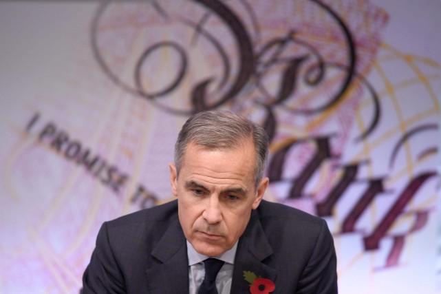 Le gouverneur de la banque d'Anglettre, Mark Carney.... (AFP)