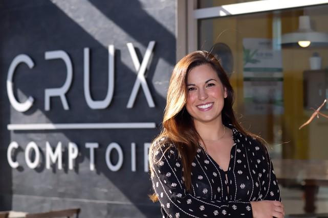 Alexa Tymocko, 31 ans - Copropriétaire de Crux...