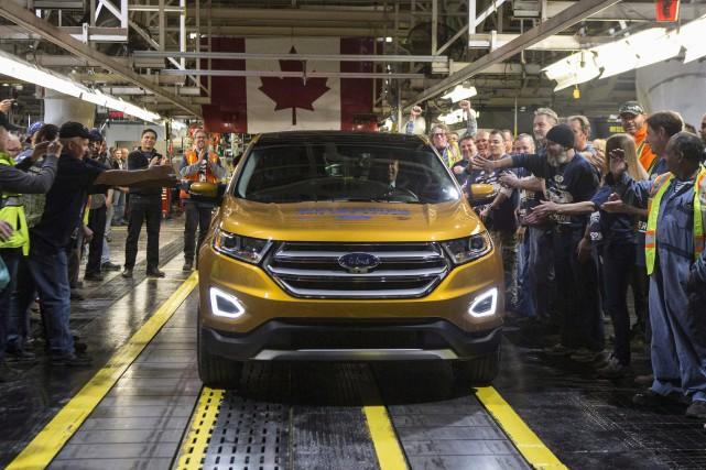 Les ventescanadiennes de véhicules ont grimpé de 6,3... (Photo : Presse Canadienne)