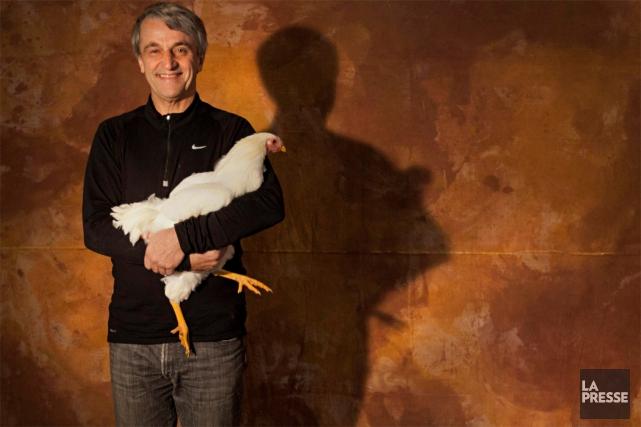Le chef Jean Soulard est le cofondateur du... (Photo Ivanoh Demers, archives La Presse)