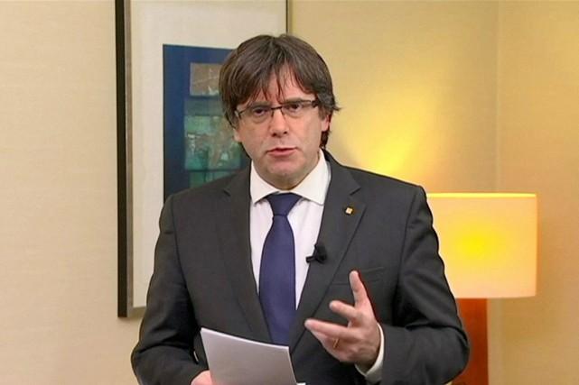 Un mandat d'arrêt européen devrait être émis dans... (IMAGE REUTERS/TV3)