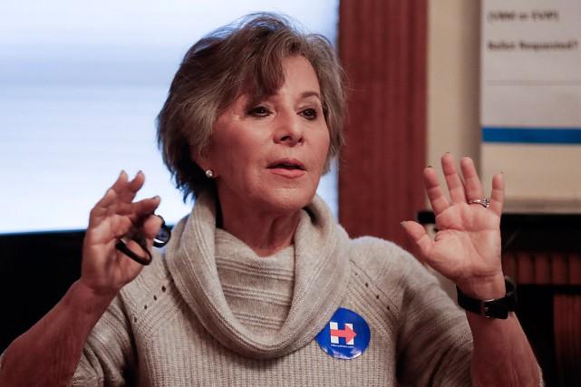 L'ancienne sénatrice de la Californie Barbara Boxer a... (PHOTO JOHN MINCHILLO, ARCHIVES ASSOCIATED PRESS)