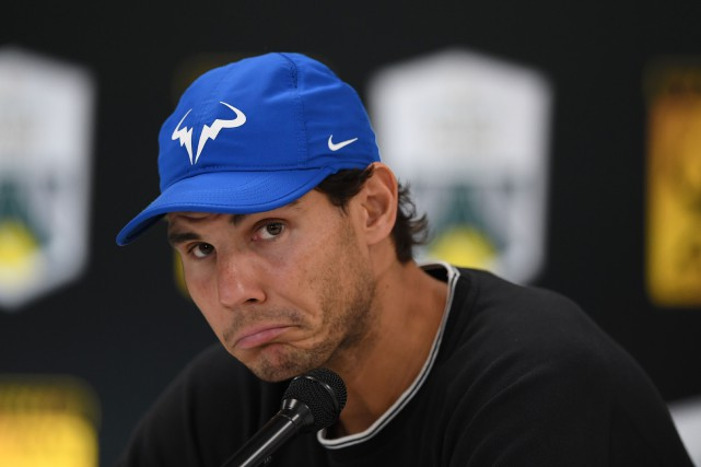 Rafael Nadal... (Photo Christophe Archambault, AFP)