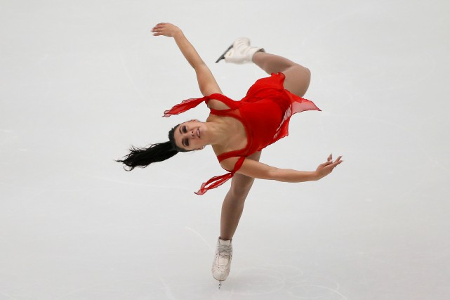 Gabrielle Daleman... (Photo Thomas Peter, Reuters)