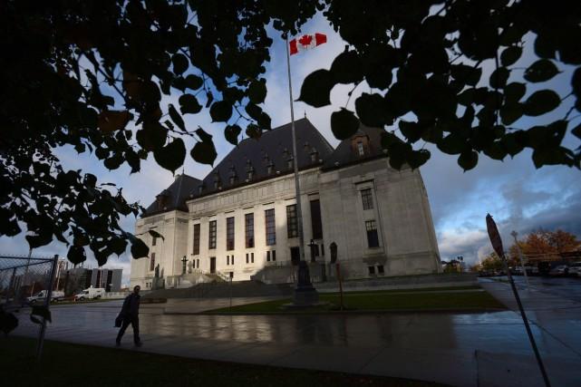 Sept des neuf juges de la Cour suprême... (Photo   Sean Kilpatrick, archives La Presse canadienne)