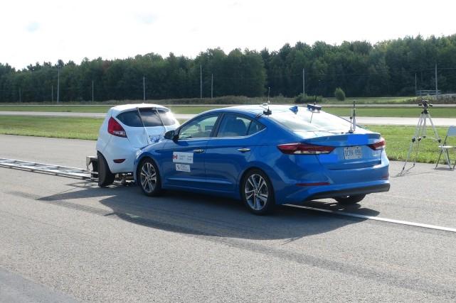 PMG Technologies teste notamment les systèmes de freinage... (Photo: PMG Technologies)