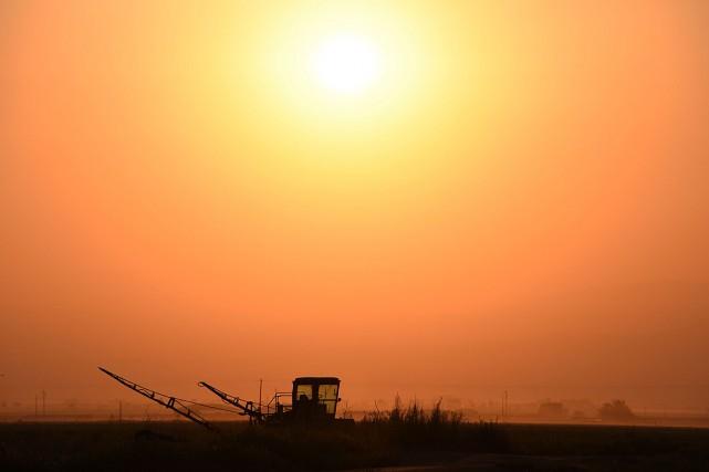 La température moyenne aux États-Unis a augmenté rapidement... (PHOTO ROBYN BECK, ARCHIVES AGENCE FRANCE-PRESSE)