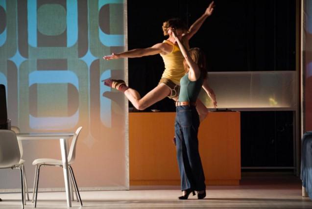 RenaudLacelle-Bourdon et EugénieAnselin dansNina, c'est autre chose... (Photo JulienBenhamou, fournie par la production)