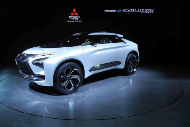 Avec l'étude e-Evolution, Mitsubishi souhaite signaler que la... (Photo Éric LeFrançois, collaboration spéciale)