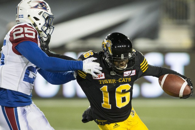 Les Tiger-Cats de Hamilton ont infligé un 11e... (Photo La Presse Canadienne)