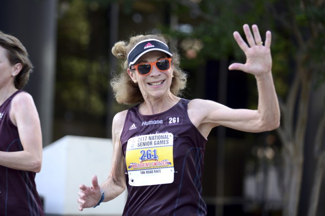 Kathrine Switzer a créé sa fondation, 261 Fearless,... (Photo Andrea Mabry, AP)