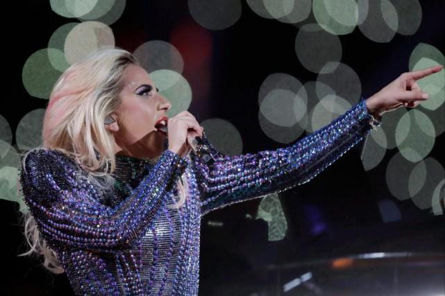 Lady Gaga n'ayant pas autorisé la présence de... (photoDarron Cummings, archives la presse canadienne)