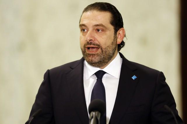 La démission du premier ministre Saad Hariri étaittotalement... (Photo ANWAR AMRO, AFP)