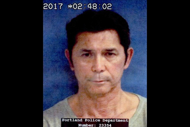 Le test d'ivressomètre de Lou Diamond Phillips a... (PHOTO FOURNIE PAR LA POLICE DE PORTLAND)