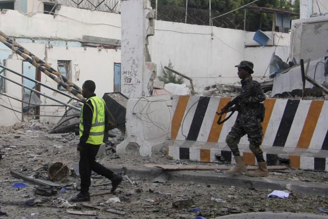 La mission américaine a laissé savoir que la... (Photo Farah Abdi Warsameh, AP)