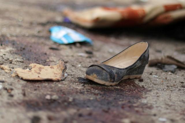 Les victimes de l'attentat fuyaient des combats faisant... (PHOTO ARCHIVES REUTERS)