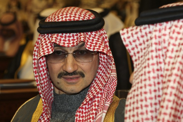 Le milliardaire saoudien, Prince Alwaleed bin Talal (vu... (Photo Hassan Ammar, Archives Associated Press)