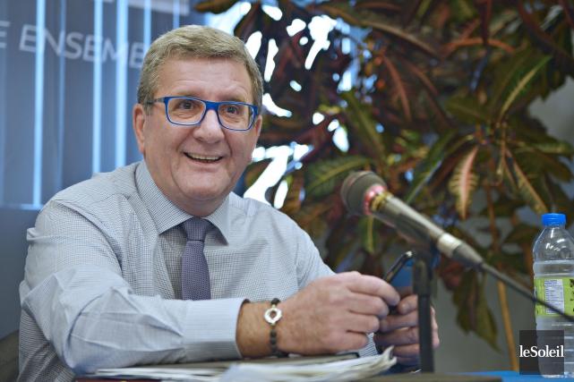 Le maire sortant de Québec, Régis Labeaume... (Photo Pascal Ratthé, Le Soleil)