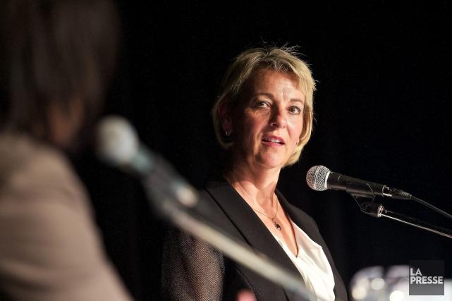 Sylvie Parent est la nouvelle mairesse de Longueuil.... (Photo André Pichette, La Presse)