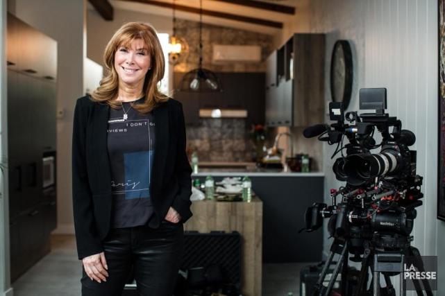 Chantal Fortier, directrice des productions originales et chef... (PHOTO EDOUARD PLANTE-FRÉCHETTE,LA PRESSE)