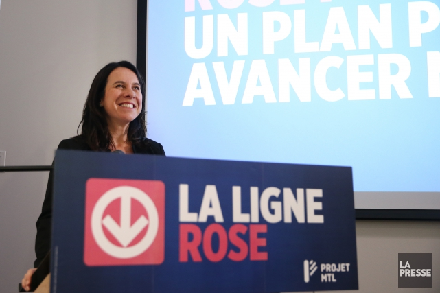 Valérie Plante... (Photo archives La Presse)