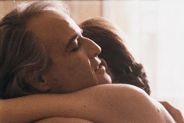 Marlon Brando et Maria Schneider dansLe dernier tango... (Photo d'archives)