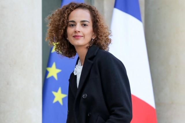 La jeune romancière franco-marocaine Leïla Slimani, prix Goncourt... (PHOTO REUTERS)