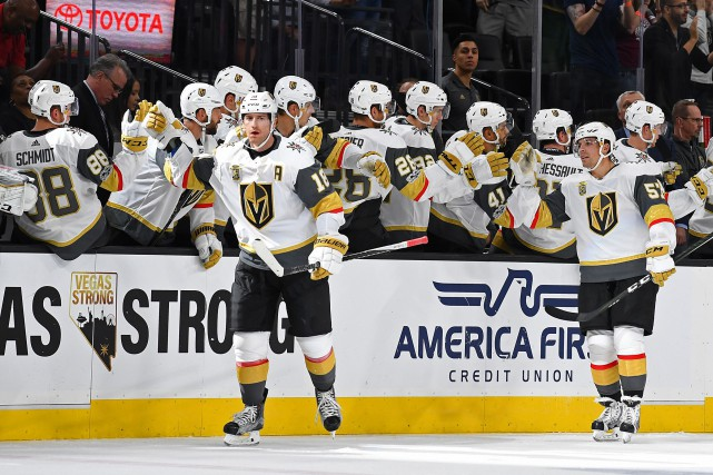 Les Golden Knights de Vegas se présenteront à... (Photo Stephen R. Sylvanie, USA TODAY Sports)