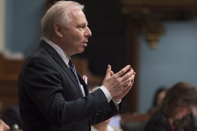 Le chef péquiste Jean-François Lisée, dont le parti... (Photo archives La Presse canadienne)