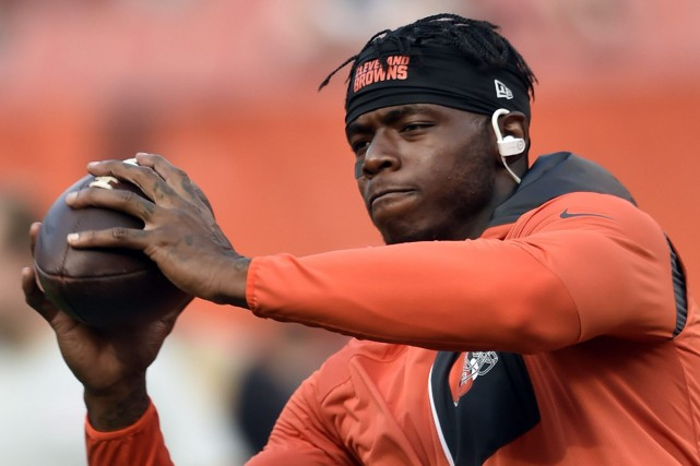 Josh Gordon a mentionné au magazine GQ qu'il avait... (Photo David Richard, AP)