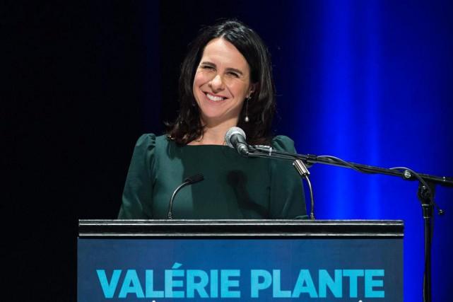Valerie Plante, nouvelle mairesse de Montréal... (photoGraham Hughes,la presse canadienne)