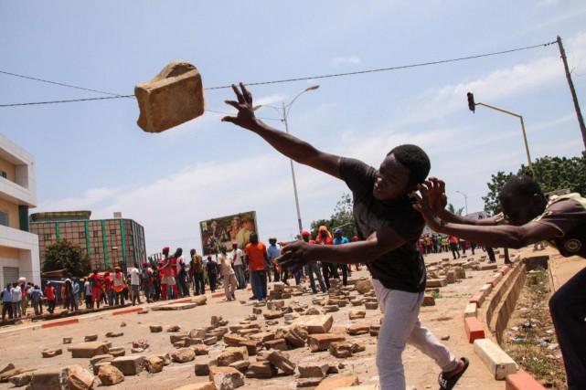 De nombreuses manifestations ont été organisées depuis le... (PhotoMATTEO FRASCHINI KOFFI, Archives Agence France-Presse)