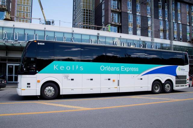 L'entreprise Orléans Express Keolis incite ses clients à... (Photo Alain Roberge, Archives La Presse)