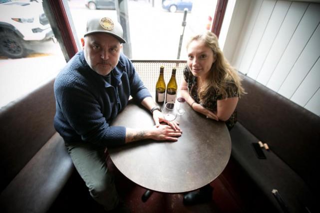 Le chef David McMillan et la sommelière Vanya... (Photo François Roy, La Presse)