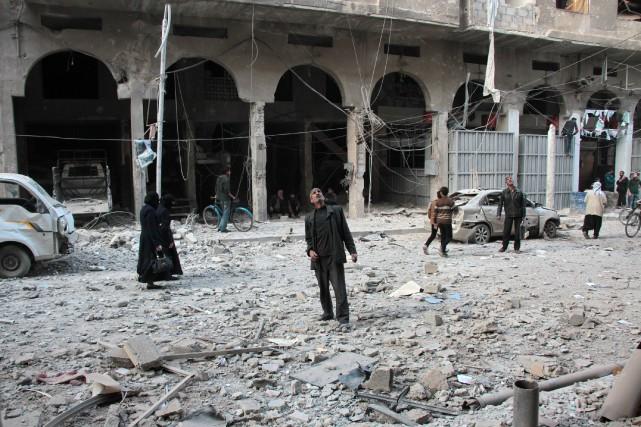Six civils, dont deux enfants, ont été tués... (AFP)