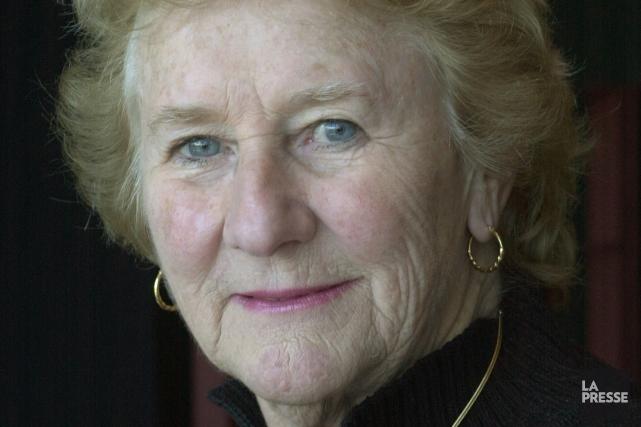 Antonine Maillet en 2003.... (Photo Pierre McCann, archives La Presse)