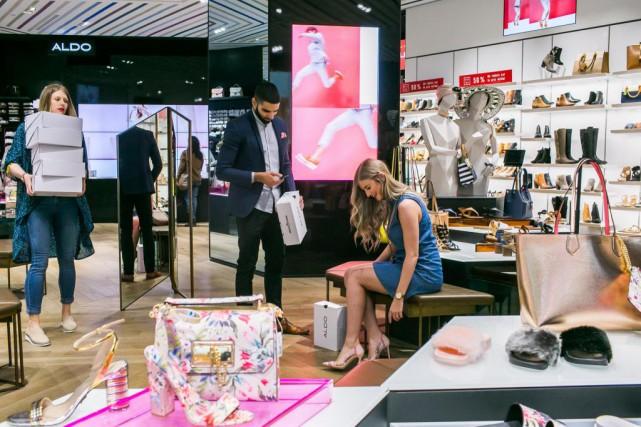 Alors que le commerce de détail est en... (Photo Martin Tremblay, Archives La Presse)