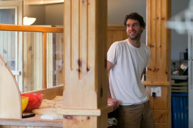 Mathieu Chartier a fait ses classes en boulangerie... (Photo François Roy, La Presse)