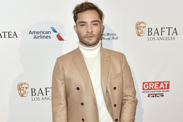 Ed Westwick a publié hier sur Twitter un... (Photo archives AP)