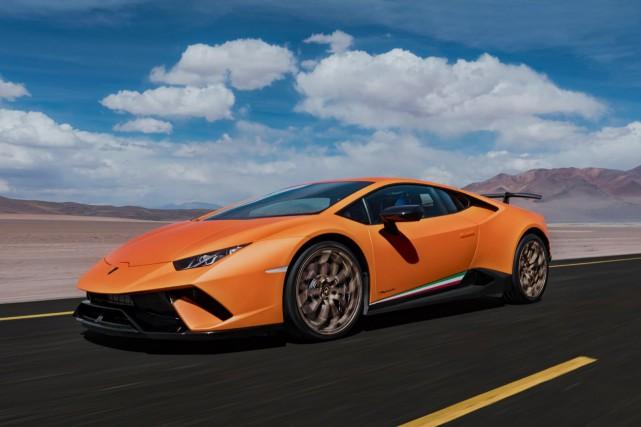 La Lamborghini Huracán.... (Photo fournie par Lamborghini)