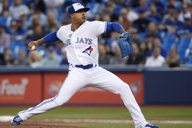 Marcus Stroman... (PHOTO ARCHIVES LA PRESSE CANADIENNE)