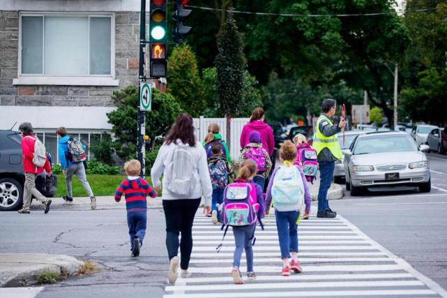 Les trois commissions scolaires de l'île de Montréal... (Photo Alain Roberge, archives La Presse)