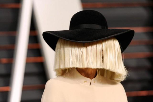 La chanteuse Sia a publié une photo d'elle... (photoEvan Agostini, archives associated press)