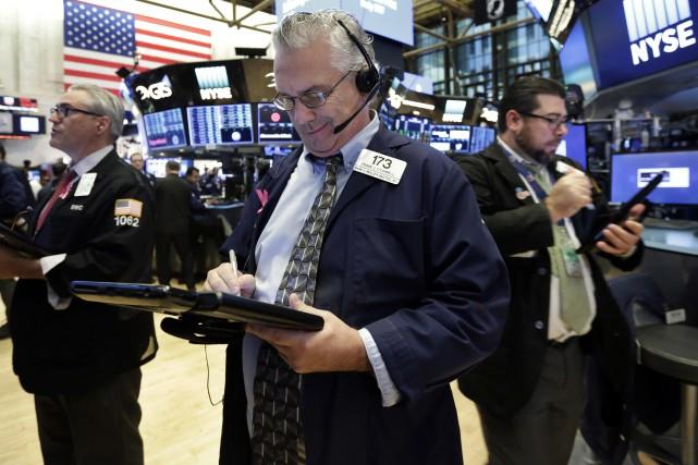 La Bourse de New York a ouvert en... (AP)